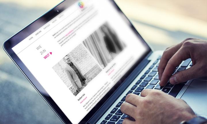 Website met nieuw CMS systeem YourMonitor voor DosisDesign