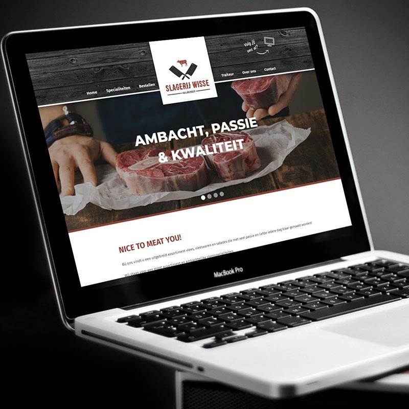 E-commerce oplossingen, Webdevelopment en integratie CRM voor Slagerij Wisse