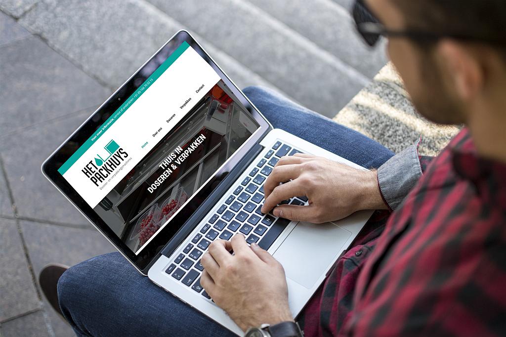 Maatwerk website voor Het Packhuys door ProAutNorm