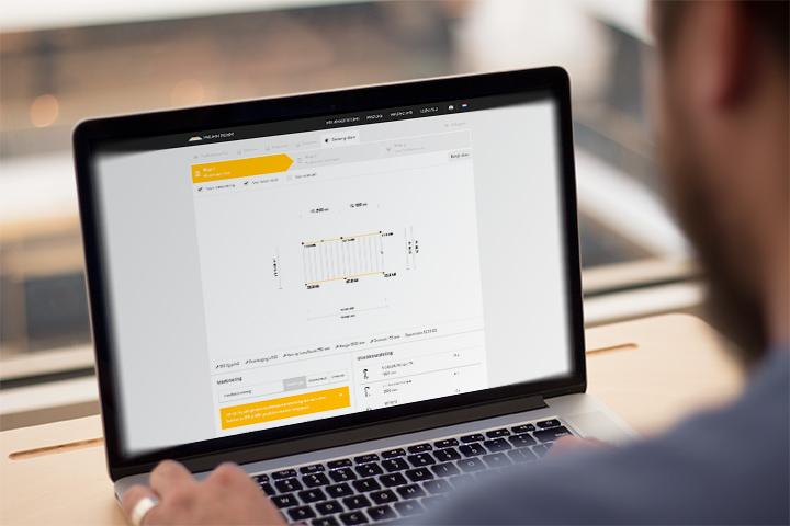 Een 3D product configurator of 3D configurator. Product configurator software en een productconfigurator maken door ProAutNorm!